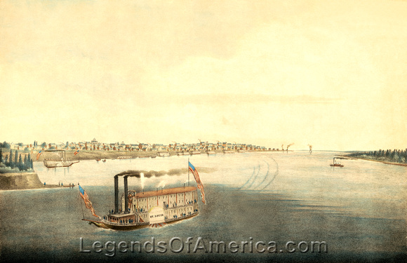 St. Louis, MO - Mississippi River, 1832