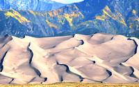 Great Sand Dunes, CO - Sandhill Ridges