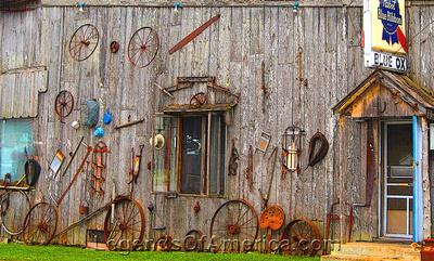 Baileys Harbor - Blue Ox - Side