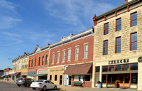Florence, KS - Main Street Buildings