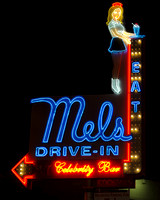 Hollywood, CA - Mels Drive-In & Celebrity Bar