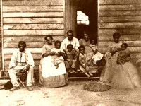 Hanover County, VA - Slave Family, about 1861
