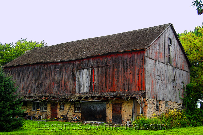 Dheinsville, WI - Barn