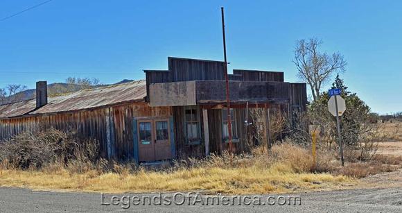 Dragoon, AZ abandoned store