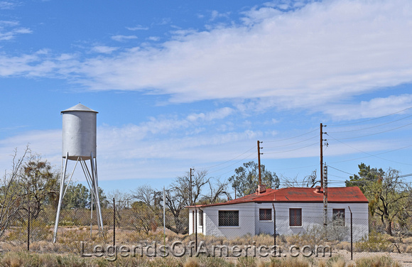 A portion of the Quartermaster Depot, Fort Lowell.