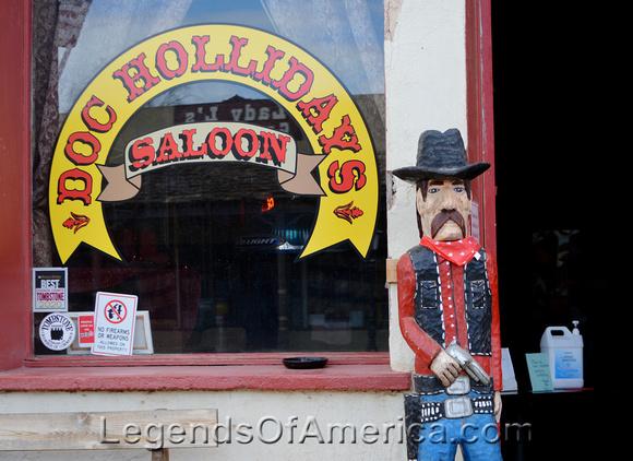 Tombsone, AZ - Doc Hollidays
