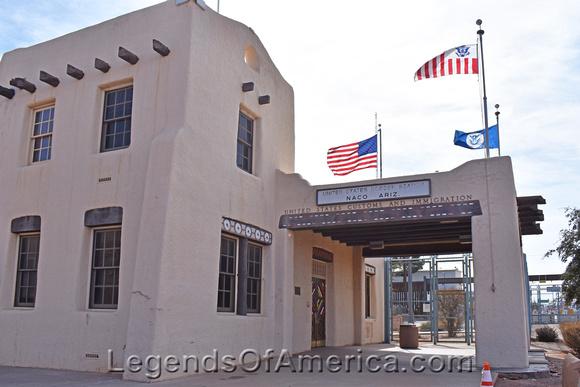 Old Border Station in Naco, AZ