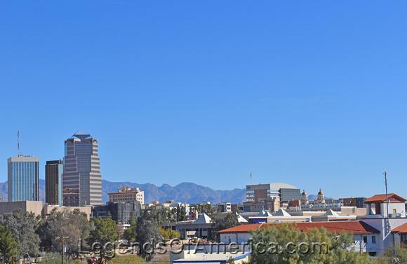 Skyline of Tucson Arizona