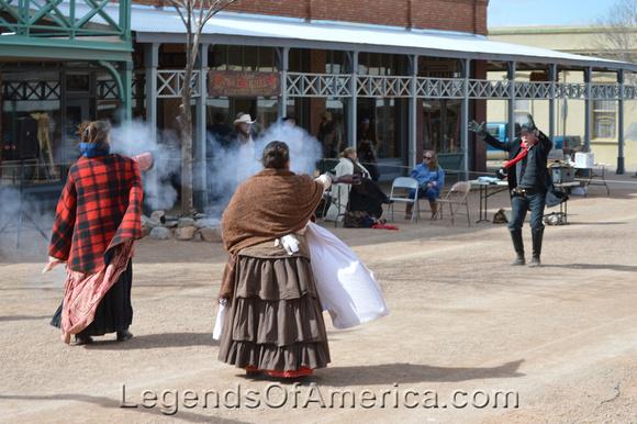 Tombstone, AZ - Ladies Gunfight