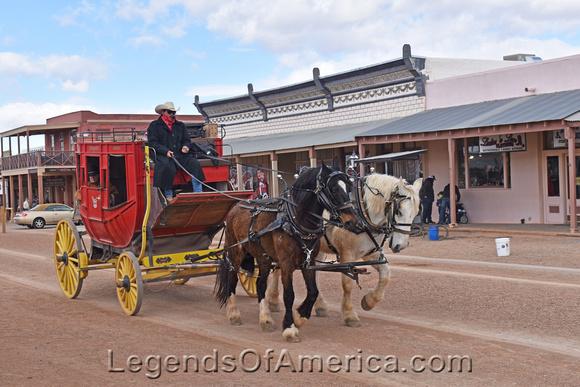 Tombstone, AZ - Stagecoach - 2