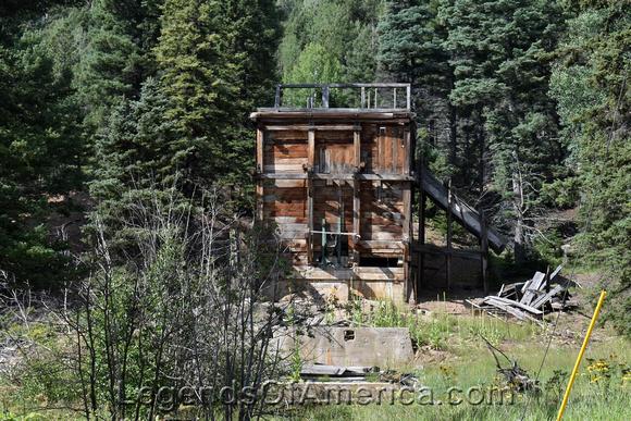 Eagle Nest, NM - Idlewild  Klondike Mine Remains