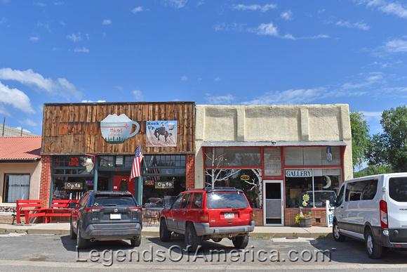 Cimarron, NM - New Town Shops