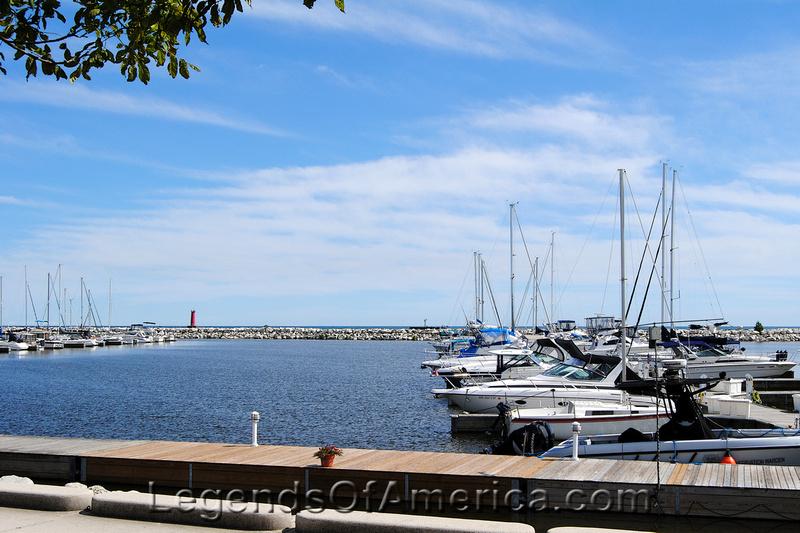 Sheboygan, WI - Harbor Centre Boats-2
