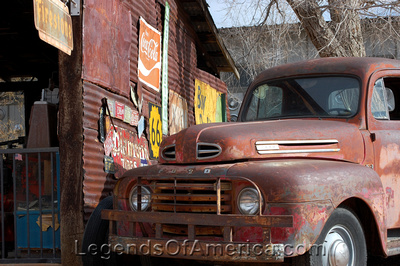 Hackberry, AZ - Old Ford