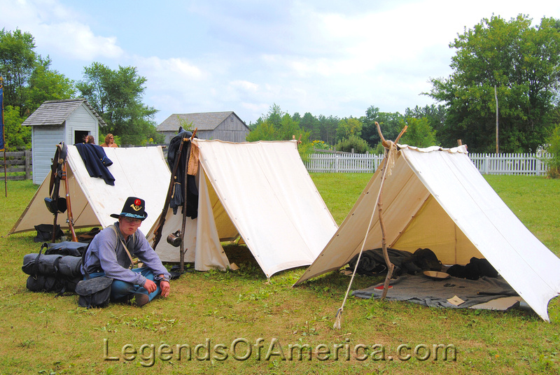 Old World Wisconsin - Life in a Union Camp 4