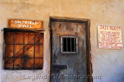 Goldfield, AZ - Jail Door
