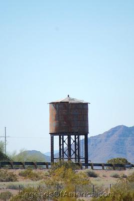 Aztec, AZ - Water Tank