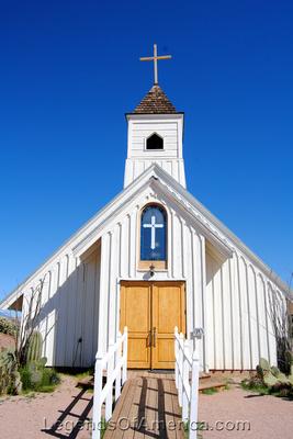 Apache Junction, AZ - Superstition Mountain Museum  Elvis Chapel