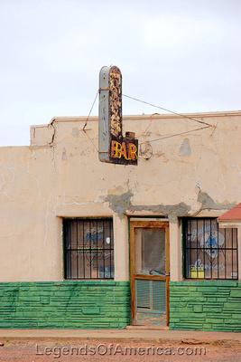 Van Horn, TX - Bar