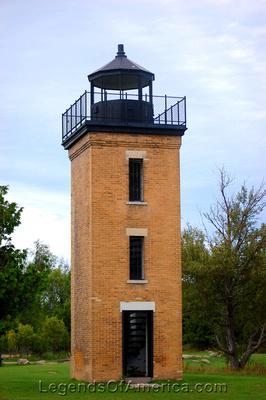 Stonington, MI - Peninsula Point Lighthouse