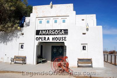 Death Valley Junction, CA - Amargosa Opera House