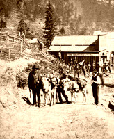 Deadwood, SD - From the south, 1876