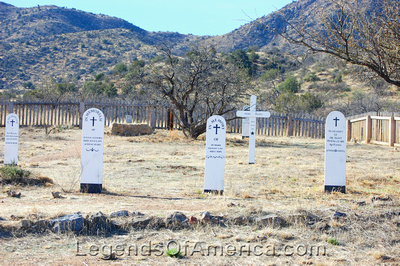 Fort Bowie, AZ - Post Cemetery