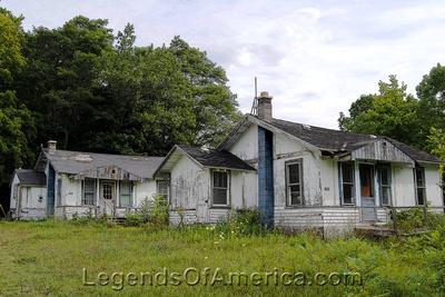 Gardner, WI - House Behind Old School Near Gardner