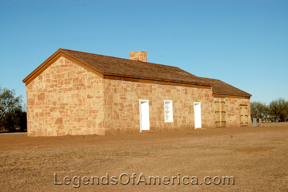 Fort Chadbourne, TX - Building - 2