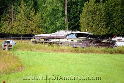 Stonington Township, MI - Old Boat