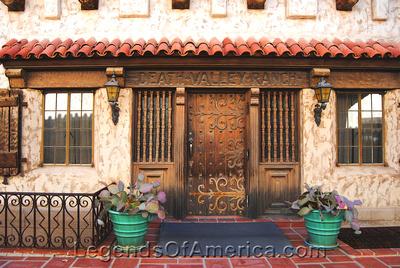 Scotty's Castle, CA - Main House Courtyard Door