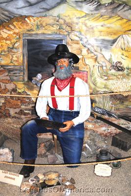 Pahrump, NV - Museum Last Chance Johnnie