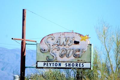 Salton Sea, CA - Desert Shores Sans Souci