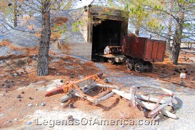 Pahrump, NV - Museum Mining Display