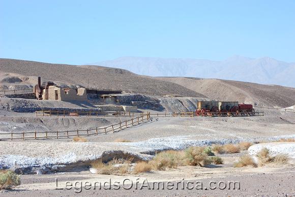Death Valley, CA - Harmony Borax Works
