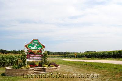 Dyersville, IA -  Field of Dreams Sign