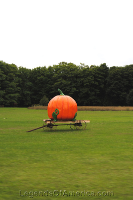 Baileys Harbor, WI - Kopsels Farm Market Pumpkin