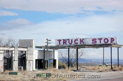 Sierra Blanca, TX - Truck Stop