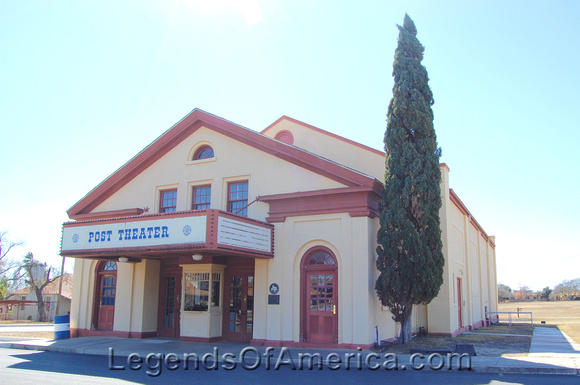 Fort Clark, TX - Post Theater