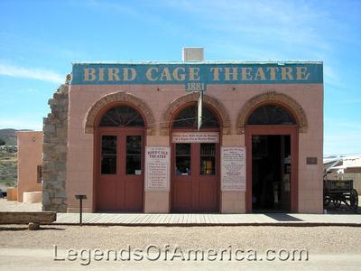 Tombstone, AZ - Birdcage Theatre