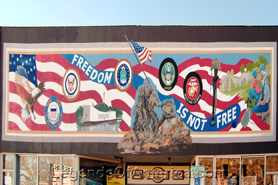 Williams, AZ - Freedom Mural