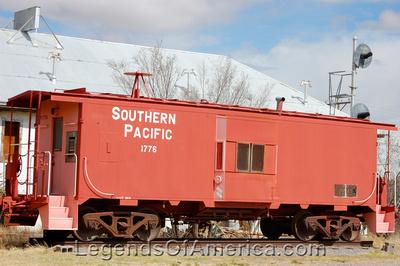 Sierra Blanca, TX - Southern Pacific Railroad Car