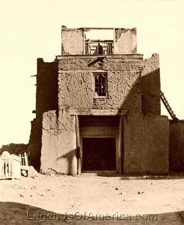 Santa Fe, NM - San Miguel Mission, 1888