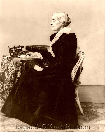 Susan B. Anthony, women's rights leader