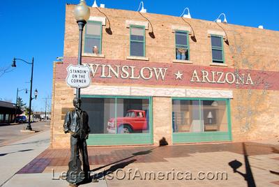 Winslow, AZ - Standin' on the Corner