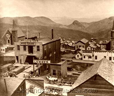 Virginia City, NV - 1866