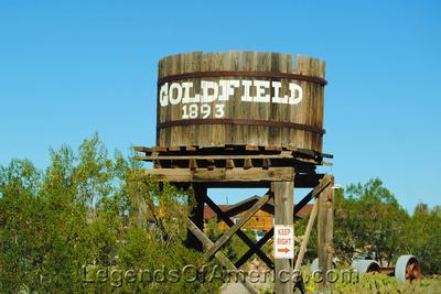 Goldfield, AZ - Railroad Water Tower