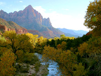 Zion National Park, UT - River