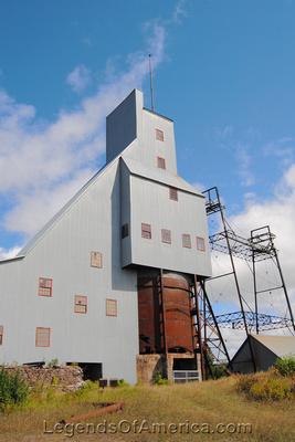 Hancock, MI - Quincy Mine Shaft Rock House-2