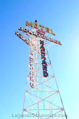 Flagstaff, AZ - Downtowner Motel - 2